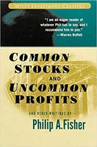 Common Stocks and Uncommon Profits 198x300 - Investing Books