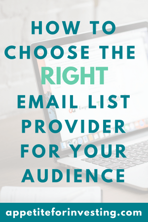 The Money is in Your Email List: Which Provider to Use, the Ultimate Review