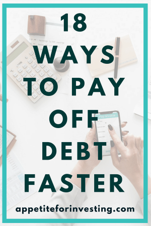 18 ways to pay off debt faster