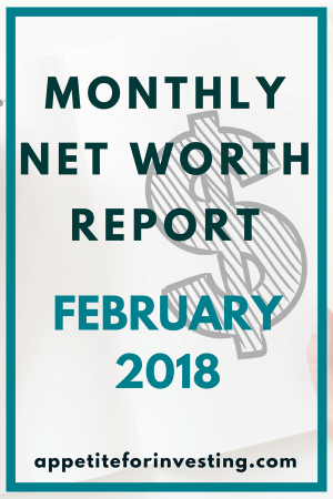 Monthly Net Worth Update #2