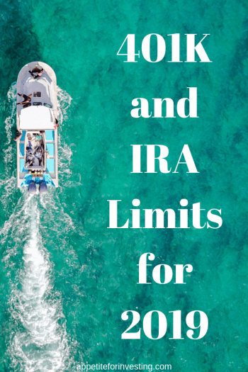 401K and IRA Limits for 2019 Pin 1 e1566606021220 - Maximum Contribution Limits for Retirement Plans in 2019